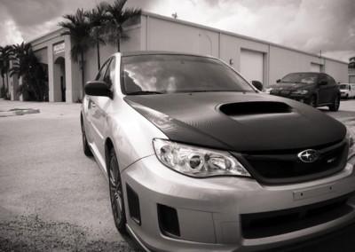 2012 Subaru WRX - Carbon Hood
