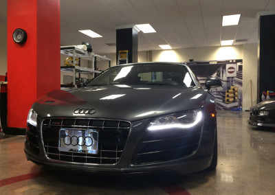 Audi R8 - Window Tint & Smoked Headlights - Tail Lights