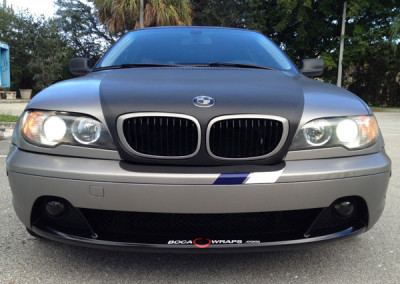 BMW 328 - Brushed Steel + Carbon (After)