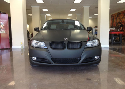 BMW 328 - Custom Matte Black