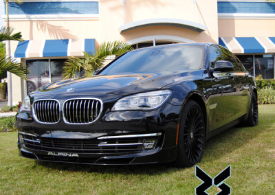 BMW B7 Alpina - Window Tint 2