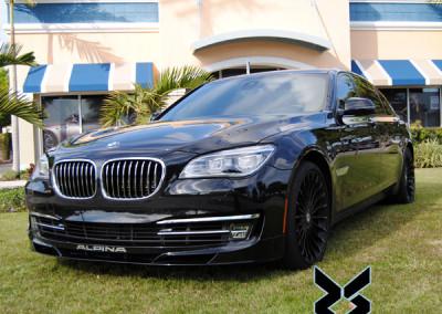 BMW B7 Alpina - Window Tint 2