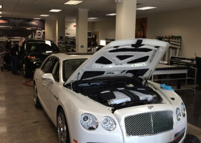 Bentley Mulsanne - 3M Paint Protection Process