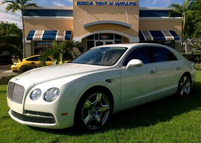 Bentley Mulsanne - Paint Protection & Window Tint
