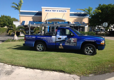 Blue Water - Commercial Truck Wrap