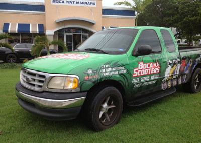 Boca Scooters - Commercial Vehicle Wrap