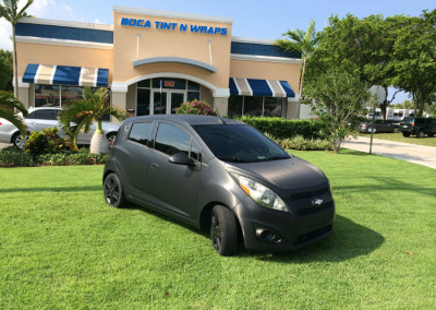 Chevy - 3M Brush Black Full Wrap