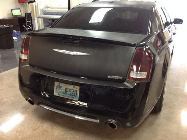 Chrysler 300 Srt8 Snakeskin Wrap 3 Mimessi Auto Design