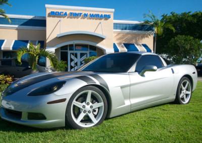 Corvette - Tint & Matte Accents & Stripes #1