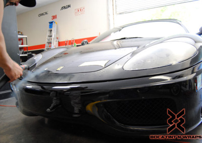 Ferrari 360 Spider - Paint Protection & Window Tint #2