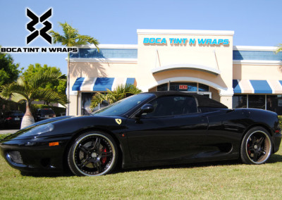 Ferrari 360 Spider -  Window Tint & Paint Protection