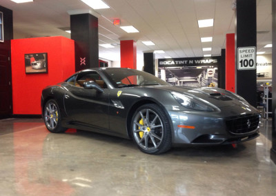 Ferrari California - 3M Crystalline Window Tint