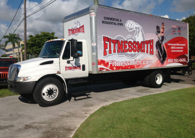 Fitnessmith - Commercial Truck Wrap