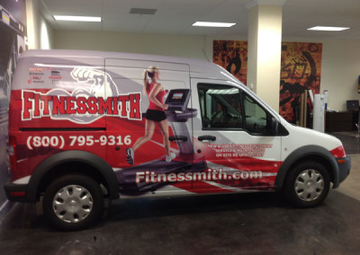 Fitnessmith - Commercial Vehicle Wrap #3