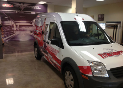 Fitnessmith - Commercial Vehicle Wrap