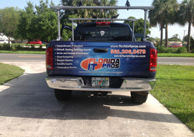 Florida IT Pros - Commercial Vehicle Wrap #2