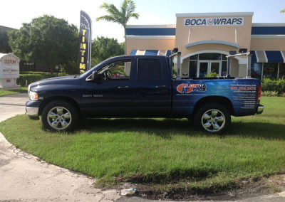 Florida IT Pros - Commercial Vehicle Wrap