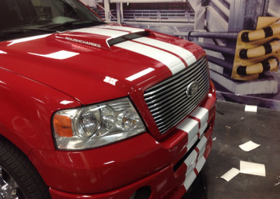 Ford F150 Roush - Racing Stripes
