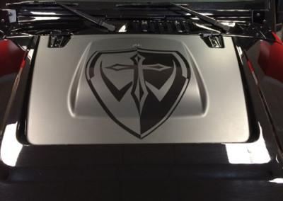 Jeep - Custom Hood Wrap