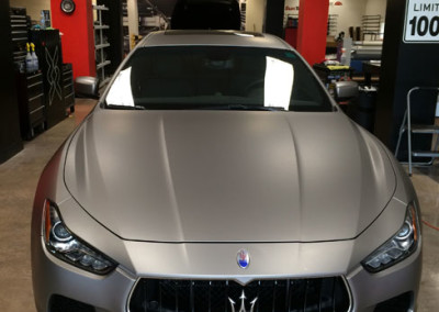 Maserati Ghibli - 3M Window Tint & 3M 1080 Aluminum Wrap