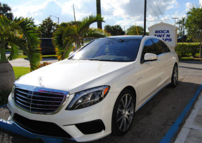 Mercedes S Class - Window Tint & Paint Protection