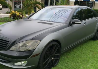 Mercedes S63 - Gun Metal & Satin Black Full Wrap