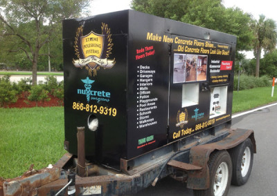 Nucrete - Commercial Vehicle Wrap #2