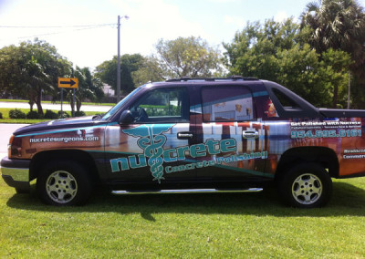 Nucrete - Commercial Vehicle Wrap #3