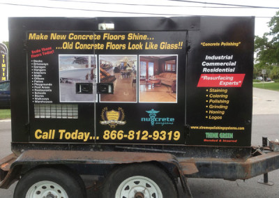 Nucrete - Commercial Vehicle Wrap