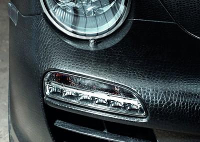 Porsche 911 - Gator Skin Wrap Black