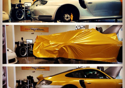Porsche - Custom Wrap Process