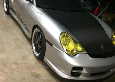 Porsche GT2 - Hood & Roof Carbon Fiber Wrap