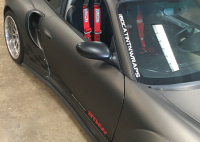 Porsche GT3 - 3M Matte Charcoal Metallic Full Wrap