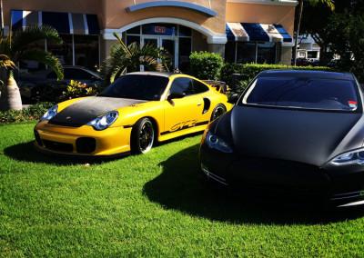 Porsche & Tesla P85 S - Custom Wraps