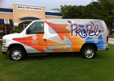 Propel - Commercial Vehicle Wrap #2