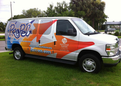 Propel - Commercial Vehicle Wrap