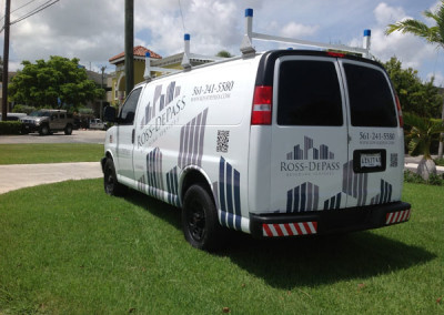 Ross-Depass - Commercial Vehicle Wrap #2