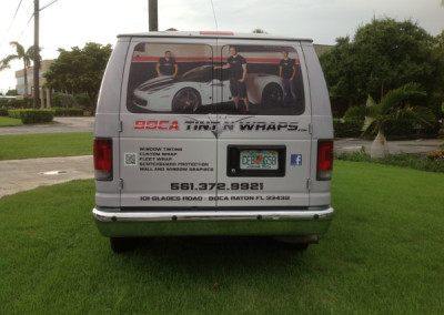 Ross-Depass - Commercial Vehicle Wrap #3