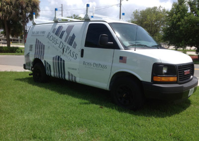 Ross-Depass - Commercial Vehicle Wrap