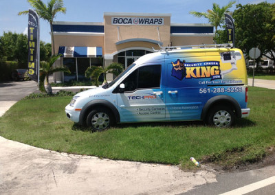 Security Camera King - Commercial Vehicle Wrap #2