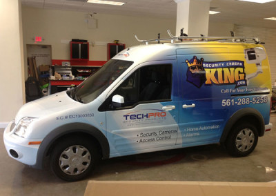 Security Camera King - Commercial Vehicle Wrap