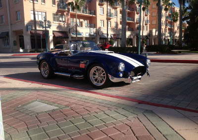 Shelby Cobra - Brush Blue with Chrome Accents #3