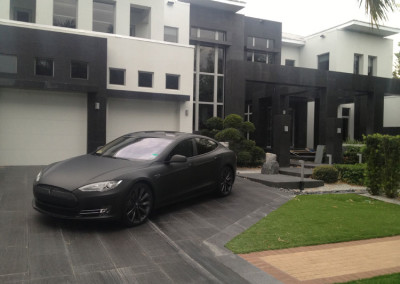 Tesla - 3M Matte Black Full Wrap #2