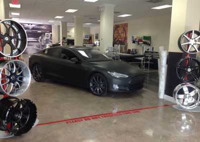 Tesla - 3M Matte Black Full Wrap #3