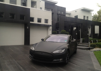 Tesla - 3M Matte Black Full Wrap