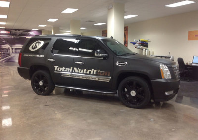 Total Nutrition - Commercial Vehicle Wrap #1