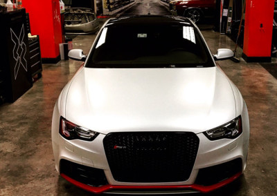 Audi RS - Satin Pearl White Wrap