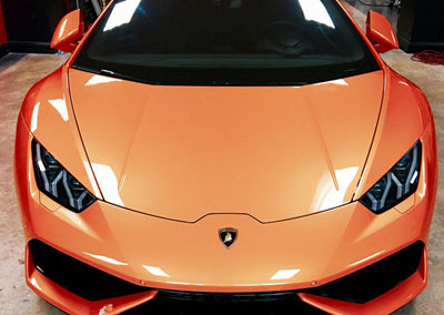 Lamborghini Hurricane - Window Tint & Paint Protection
