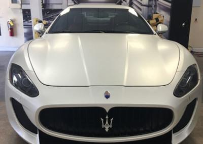 Maserati - Satin Pearl White Wrap