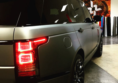 Range Rover - Grey Gun Metal Wrap #2
